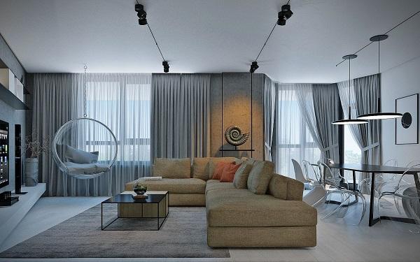 10 советов, как выбрать правильную расстановку мебели в малогабаритной квартире (7)