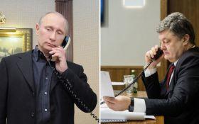 Порошенко провел телефонные переговоры с Путиным: о чем говорили президенты Украины и России