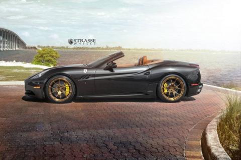 Ferrari California на дисках від Strasse Wheels (10 фото) (7)