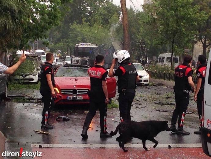У Стамбулі стався новий теракт: опубліковані фото і відео (1)