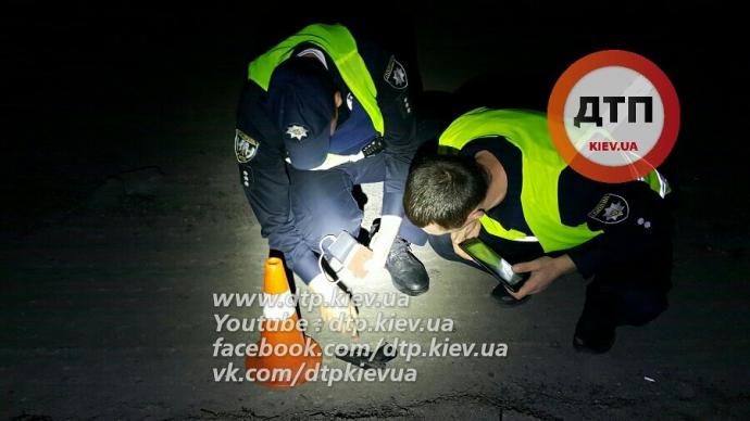 У Києві за кермом знову зловили п'яного поліцейського: з'явилися подробиці і фото (1)