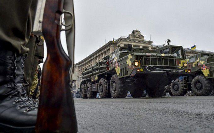 Військовий парад у Києві: з'явилися нові яскраві фото