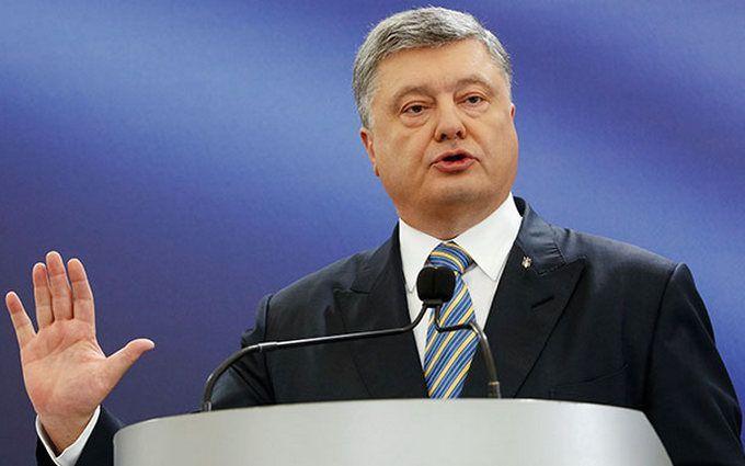 """Он будет грабить наш бюджет: Порошенко рассказал, как Украина остановит строительство """"Северного потока-2"""""""