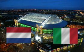 Нидерланды - Италия - 1-2: онлайн трансляция матча