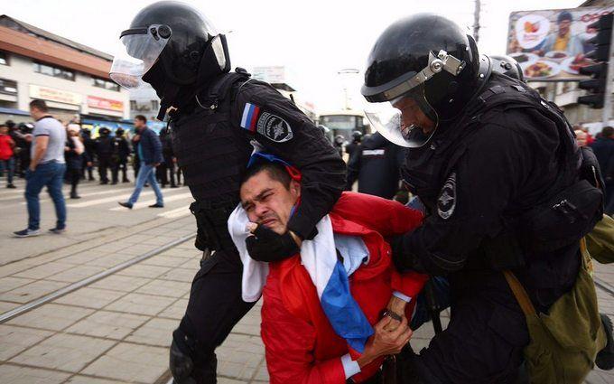 Россия без Путина: россияне проводят масштабные акции протеста по всей стране, много задержанных