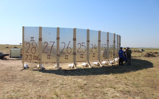 Розслідування загибелі MH17: з'явилися фото проведеного в Україні експерименту (1)