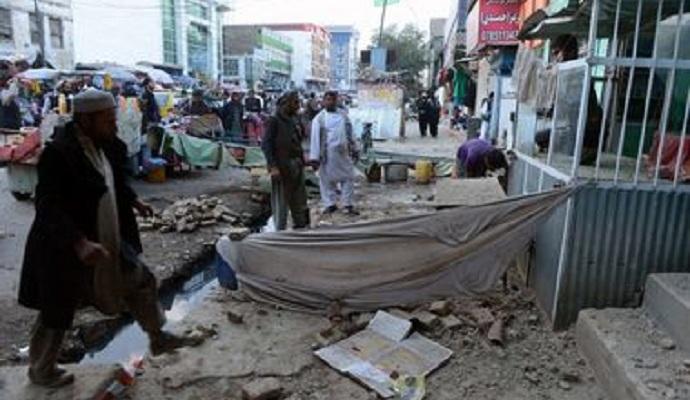 В Афганистане под минометный обстрел попала школа
