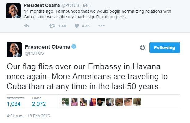 Барак Обама подтвердил исторический визит на Кубу (1)