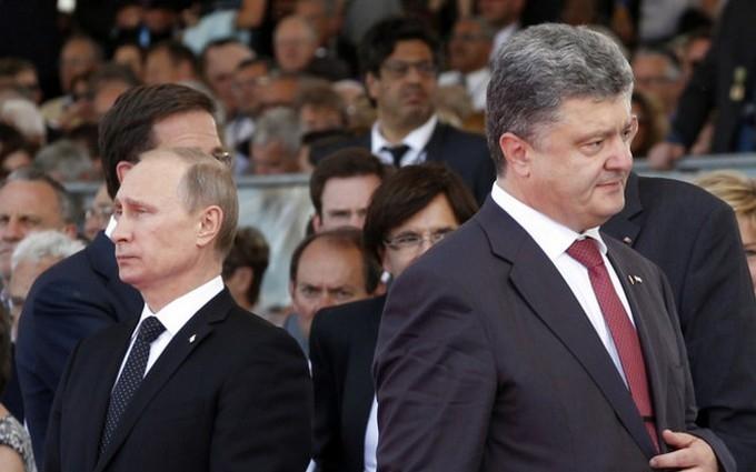 У Росії розповіли, чим Порошенко відрізняється від Путіна