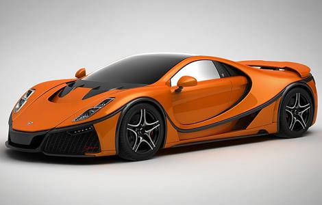 Испанцы разработали первый в мире суперкар с графеновым кузовом (4 фото) (1)