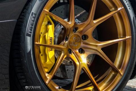 Ferrari California на дисках від Strasse Wheels (10 фото) (6)