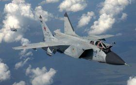 В России разбился истребитель-перехватчик МиГ-31