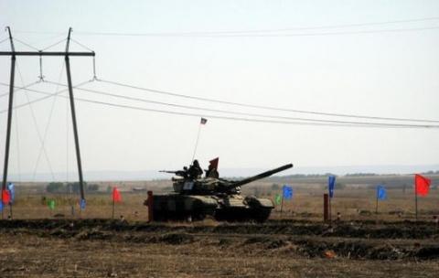 Бойовики обладнали танковий полігон у Торезі