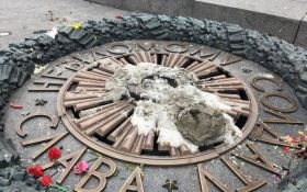 У Києві вандали знову поглумилися над Вічним вогнем