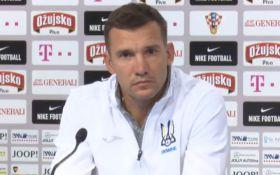 Хорватия - Украина: видео пресс-конференции Андрея Шевченко