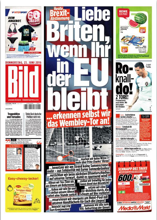 Німецька газета здивувала англійців: зостаньтесь у ЄС, і ми визнаємо гол імені Тофіка Бахрамова (1)