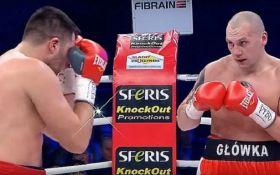 Українець Радченко відправив Гловацькі в нокдаун, але програв бій