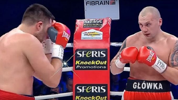 Украинец Радченко отправил Гловацки в нокдаун, но проиграл бой