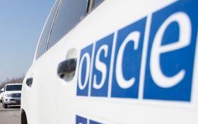 Наблюдатели ОБСЕ зафиксировали военную технику боевиков под Донецком
