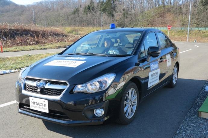 Hitachi начнёт испытания автопилота на дорогах Японии