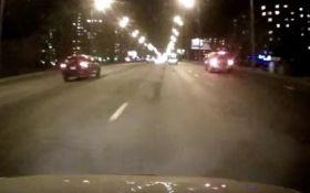 Громкое пьяное ДТП в Киеве: появилось видео момента аварии