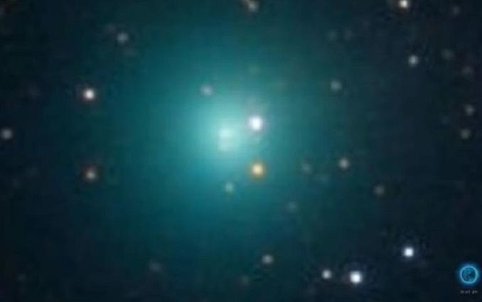 """К Земле летит комета """"невероятный Халк"""": опубликовано впечатляющее видео"""