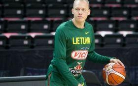 Литва сократила заявку на Евробаскет