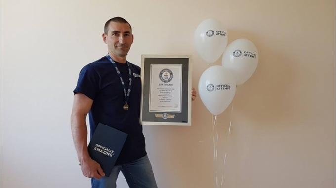 Украинец поставил новый мировой рекорд: опубликовано видео (1)
