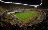 Мексиканский стадион Ацтека пострадал из-за землетрясения