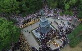 У Києві святкують День хрещення Київської Русі: з'явилися фото з висоти пташиного польоту