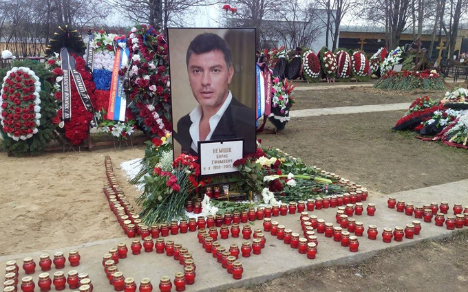 На місці загибелі Нємцова спіймали покемона: опубліковані фото