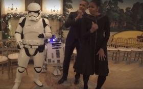 """Обама станцевал со штурмовиками из """"Звездных войн"""": опубликовано видео"""