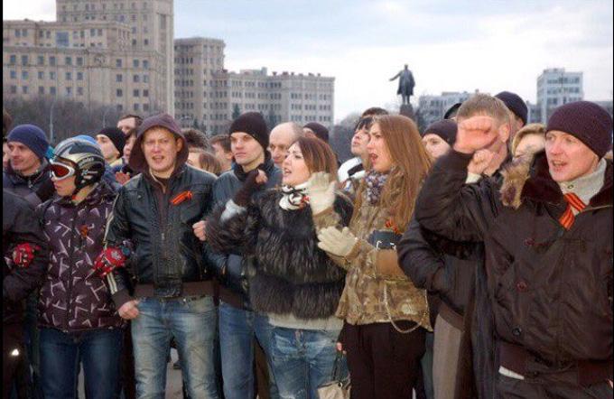 """Розгорається скандал з поліцейською з Харкова, люблячою """"русскій мір"""": з'явилися фото (3)"""