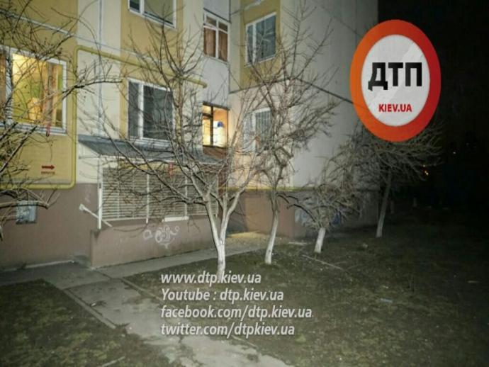 В Киеве прогремел мощный взрыв: опубликованы фото (1)