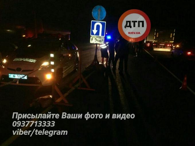 У Києві одні поліцейські влетіли в інших: з'явилися фото аварії (1)