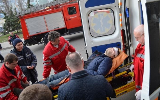 В Кировограде произошел взрыв, есть раненые: появились фото