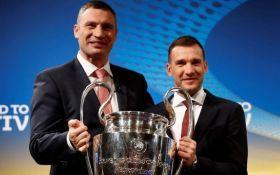 Кличко і Шевченко знялися в яскравому ролику до фіналу Ліги чемпіонів: опубліковано відео