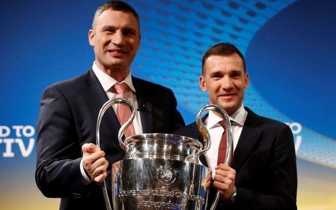Кличко и Шевченко снялись в ярком ролике к финалу Лиги чемпионов: опубликовано видео