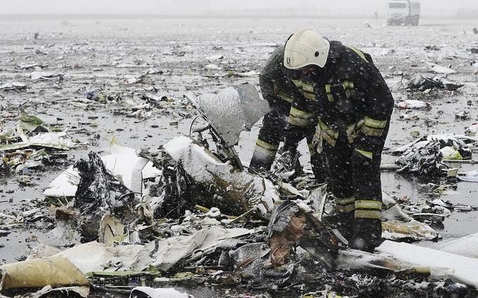 В катастрофе самолета в России нашли несколько непонятных моментов