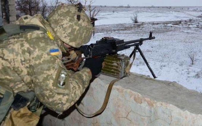 Боевики из запрещенного оружия обстреляли мирные населенные пункты - штаб АТО