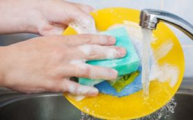 Мама за допомогою розіграшу привчила дітей мити посуд і допомагати по дому: з'явилося фото