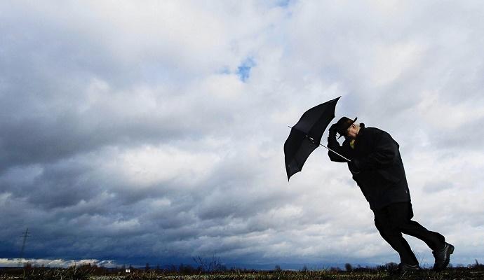 Третьего февраля по Украине местами дожди и порывы ветра, температура днем от +5 до +15