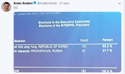 В Интерполе выбрали нового президента (2)