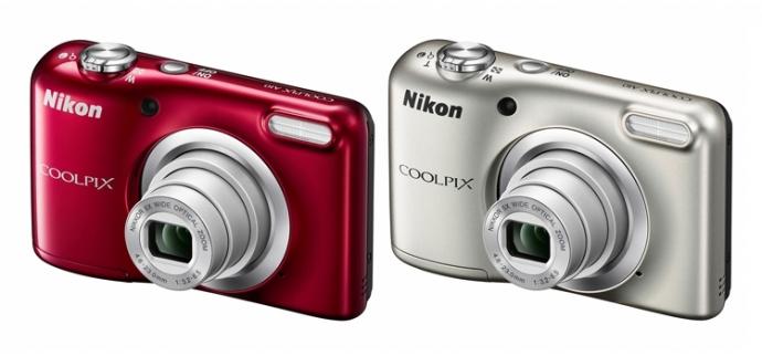 Компанія Nikon представила два фотокомпакти початкового рівня Coolpix A100 і A10
