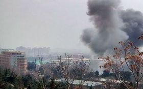 В дипломатическом квартале Кабула прогремел взрыв, есть много пострадавших