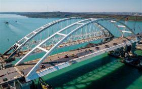 Пропутинские байкеры и российские флаги: как по Крымскому мосту запускали движение (опубликовано видео)