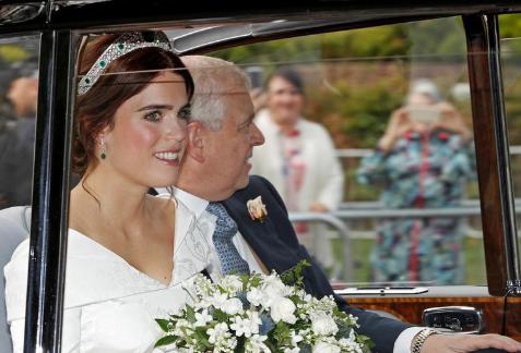 Онучка королеви Єлизавети ІІ вийшла заміж - найяскравіші фото (2)