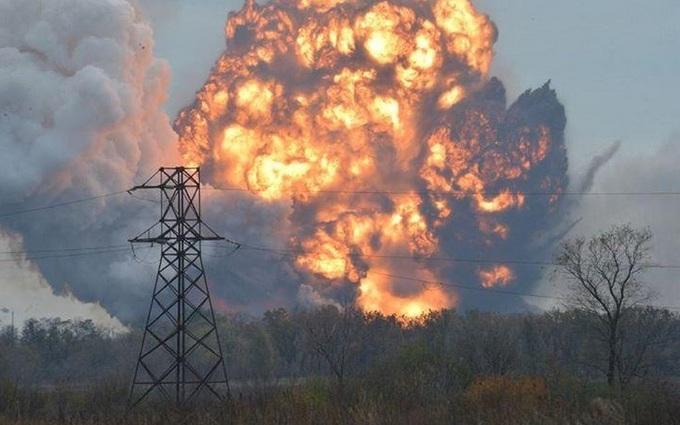 В Донецке гремят взрывы