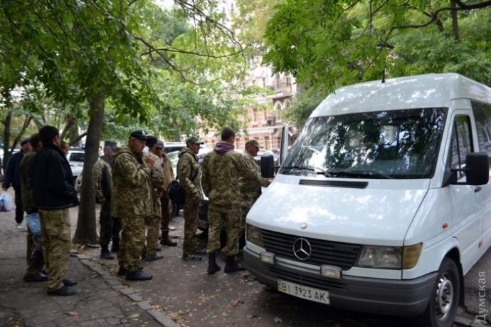 В Одесі стався інцидент з поліцією і бійцями АТО: з'явилися фото і відео (1)