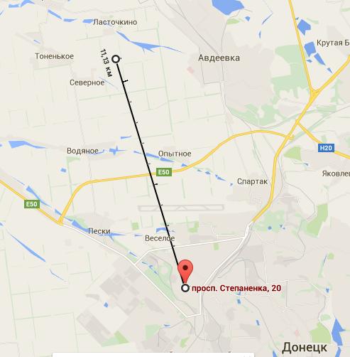У штабі АТО фото і картами спростували нову пропаганду бойовиків ДНР (3)